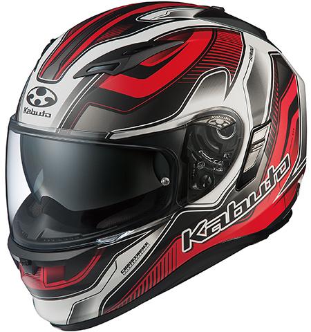 カムイ2 ハマー フルフェイスヘルメット フラットブラックレッド Mサイズ OGK