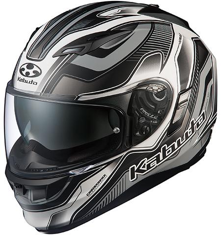 カムイ2 ハマー フルフェイスヘルメット フラットブラックシルバー Lサイズ OGK