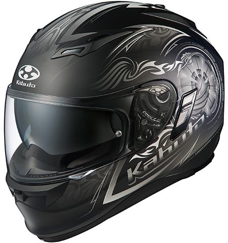 カムイ2 ブレイズ フルフェイスヘルメット フラットブラックシルバー XLサイズ OGK