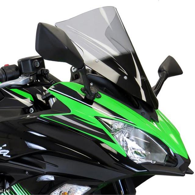 スポーツエアフロ−スクリーン イリジウムレッド Powerbronze(パワーブロンズ) Ninja650(17年)