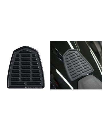 PI0019 タンクパッド レザースタイル ショート ブラック  PRINT(プリント)