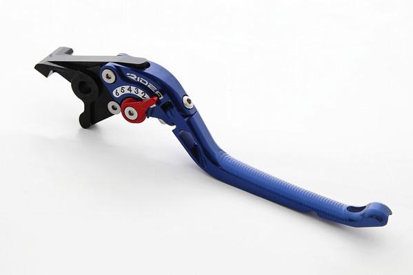 可倒式アジャストブレーキレバー ブルー RIDEA(リデア) バンディット400/V(BANDIT)GK75A