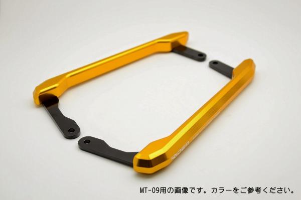 アルミ削り出しグラブバー ゴールド(PH-Y05-GD) RIDEA(リデア) MT-03(16年〜)