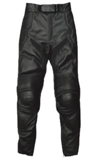 RLP-1409 カップ付ブーツインレザーパンツ ブラック Sサイズ Rookie(ルーキー)