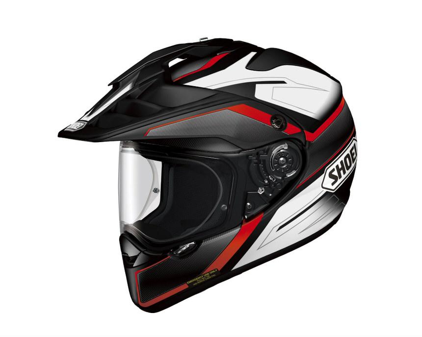 HORNET ADV SEEKER (ホーネット エーディーブイ シーカー) レッド/ブラック XL(61cm) オフロードヘルメット SHOEI(ショウエイ)