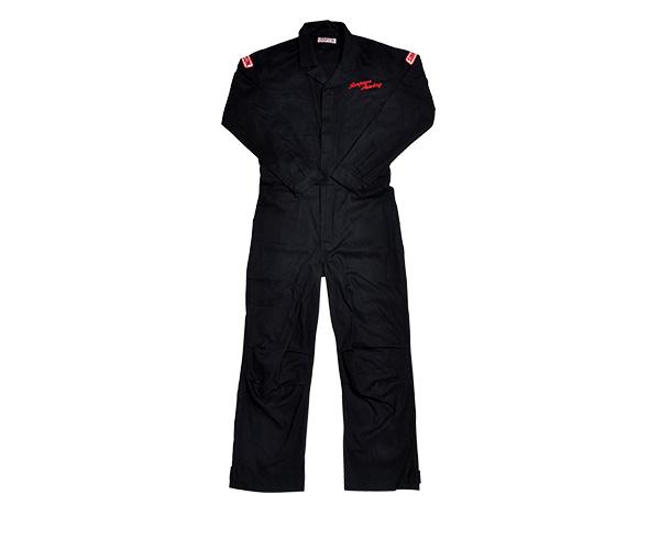 SMS-201 メカニックスーツ ブラック Lサイズ SIMPSON(シンプソン)