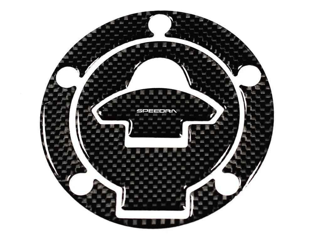 カーボンタンクキャップパッド YAMAHA タイプ2 SSK(エスエスケー) MT-03(16〜18年)