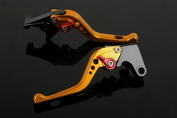 ショートアジャストレバー 3Dタイプ クラッチ&ブレーキセット ゴールド SSK(エスエスケー) W800