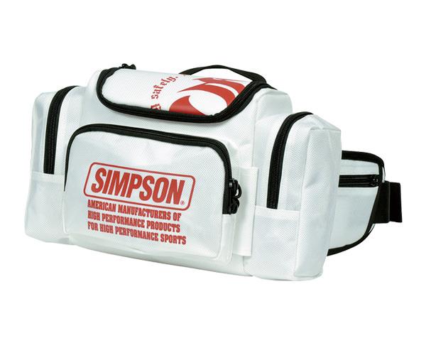 SB-311 ウエストバッグ ホワイト SIMPSON(シンプソン)