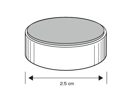 小型マグネットΦ2.5cm 1個 TANAX(タナックス)