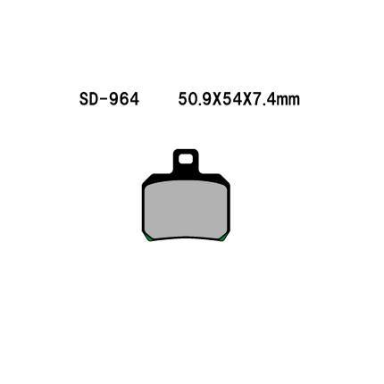 リアブレーキパッド オーガニック(レジン) Vesrah(ベスラ) DUCATI Multistrada1200(10〜11年)