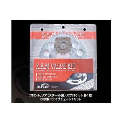 ドライブキット(バリューキット) チェーン:ゴールド XAM(ザム) GTS1000(94〜99年)