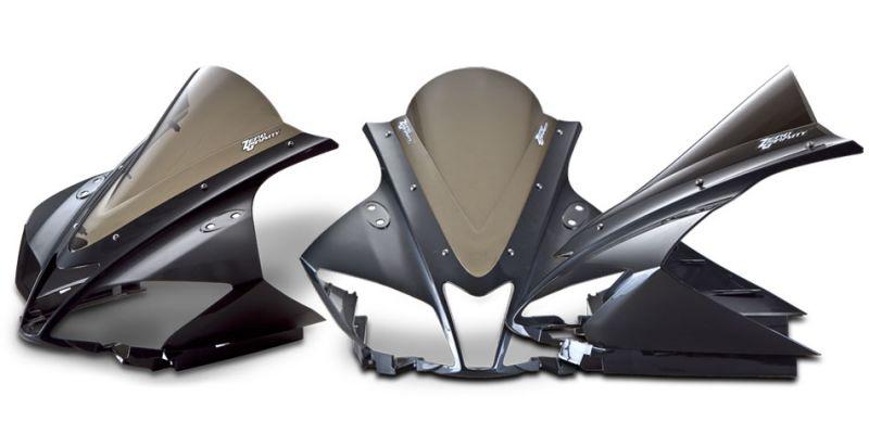 スクリーン ダブルバブル ダークスモーク ゼログラビティ(ZERO GRAVITY) YZF-R125/(ABS)08〜15年