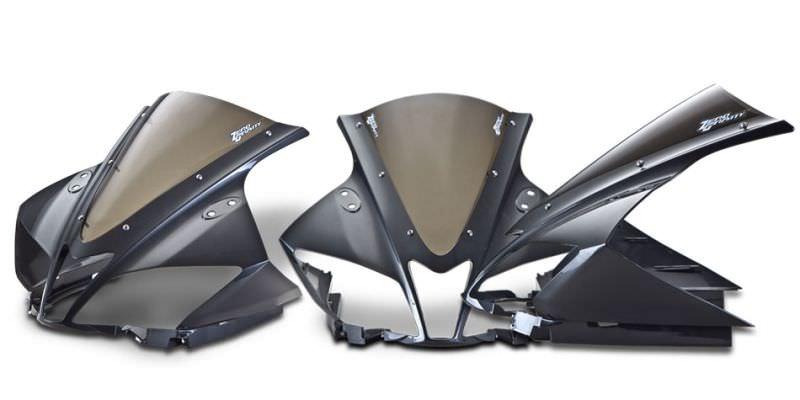 スクリーン SRタイプ ダークスモーク ゼログラビティ(ZERO GRAVITY) YZF-R125(ABS可)08〜15年