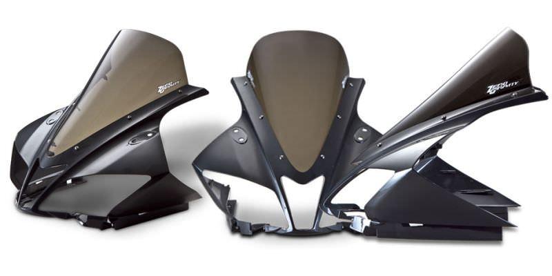スクリーン スポーツツーリング スモーク ゼログラビティ(ZERO GRAVITY) YZF-R125(ABS可)08〜15年