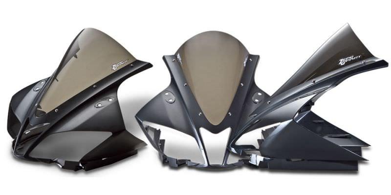 スクリーン コルサ クリア ゼログラビティ(ZERO GRAVITY) YZF-R125(ABS可)08〜15年